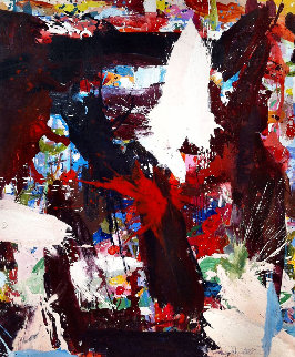 Lottery Winners 2017 72x62 Original Painting - Costel Iarca