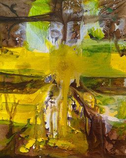 Her Heritage Painting 2017 62x50 Super Huge Original Painting - Costel Iarca