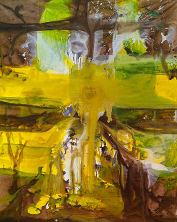 Her Heritage Painting 2017 62x50 Original Painting - Costel Iarca