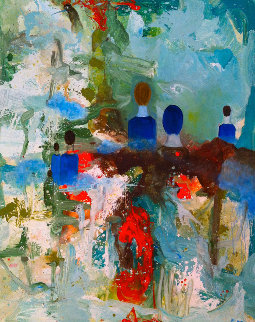 Sunday Afternoon 2017 62x50 Original Painting by Costel Iarca