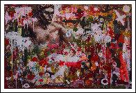 Hunting Man 2013 58x72 Super Huge Original Painting by Costel Iarca - 1