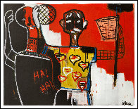 Basketball Player 2013 50x62 Super Huge Original Painting by Costel Iarca - 1