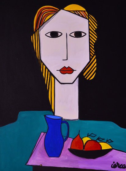 Earliest Vision 2013  62x50 Original Painting by Costel Iarca