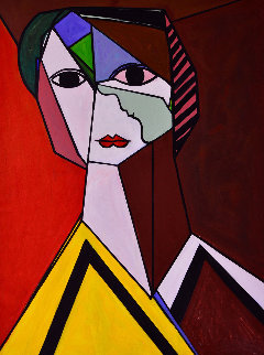 Lines of Poetry 2013 62x50 Original Painting by Costel Iarca