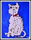 Cat 2013  62x50 Original Painting by Costel Iarca - 1