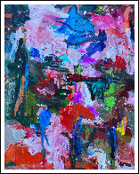 Time And Stage  2017 62x50 Original Painting by Costel Iarca - 0