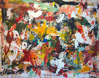 Fall in Universe 2017 106x126 Mural Super Huge Original Painting by Costel Iarca - 0