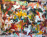 Fall in Universe 2017 106x126 Mural Original Painting by Costel Iarca - 0