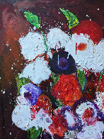 Still Life Number 2 2018 38x26 Original Painting by Costel Iarca - 4