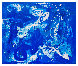 Blue Simphony in Universe 2018 81x98 Original Painting by Costel Iarca - 1