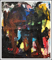 Call In 2019 72x62 Original Painting by Costel Iarca - 1