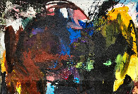 Call In 2019 72x62 Original Painting by Costel Iarca - 2