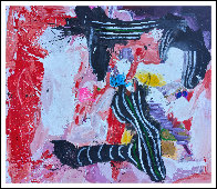 End of the Story 2019 72x62 Original Painting by Costel Iarca - 1