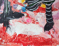 End of the Story 2019 72x62 Original Painting by Costel Iarca - 2
