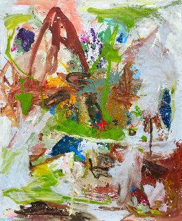 Young And Naive 72x62 Original Painting - Costel Iarca