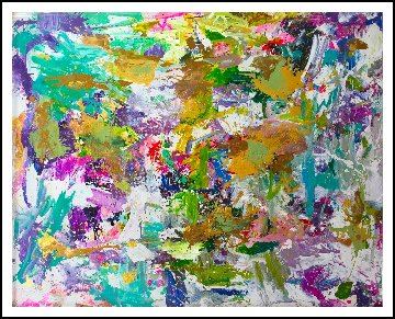 Good Will 2019 91x81 Huge Original Painting - Costel Iarca