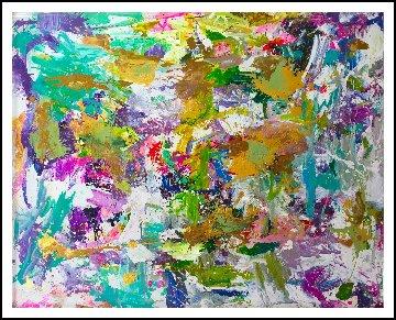 Good Will 2019 91x81 Super Huge Original Painting - Costel Iarca