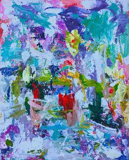 Good Will 2019 91x81 Original Painting - Costel Iarca