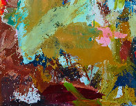 Indoors 2019 72x62 Original Painting by Costel Iarca - 3
