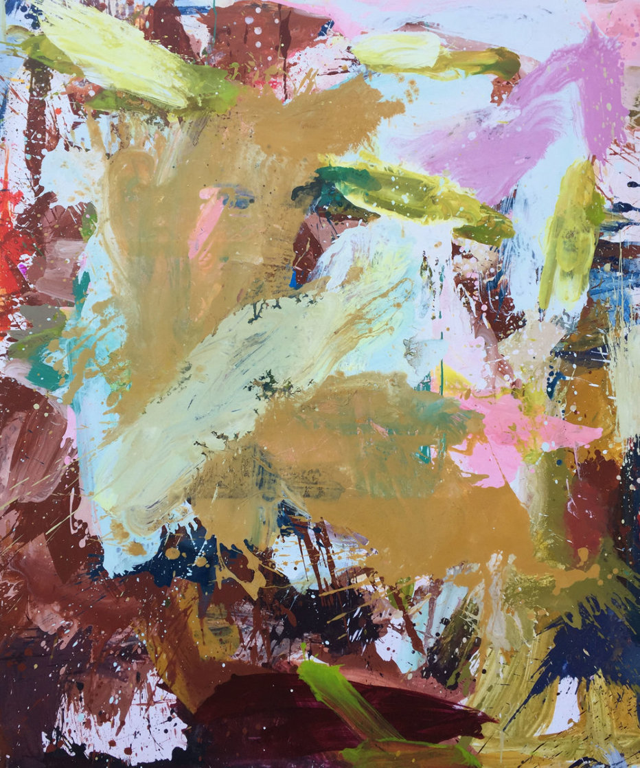 Indoors 2019 72x62 Original Painting by Costel Iarca