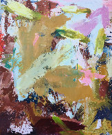 Indoors 2019 72x62 Original Painting by Costel Iarca - 0