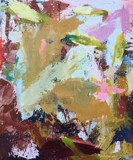 Indoors 2019 72x62  Huge Original Painting - Costel Iarca