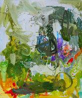 Romantic Imagination  72x60 Original Painting by Costel Iarca - 0