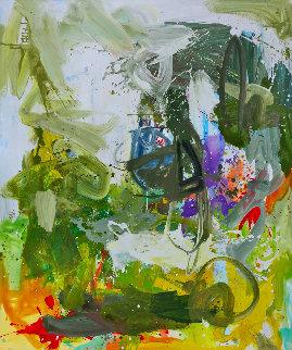 Romantic Imagination  72x60 Huge Original Painting - Costel Iarca