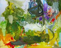 Romantic Imagination  72x60 Original Painting by Costel Iarca - 2