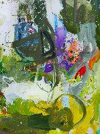 Romantic Imagination  72x60 Original Painting by Costel Iarca - 4