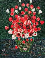 Still Life Nr 7 3-D 2019 72x60  Original Painting by Costel Iarca - 0