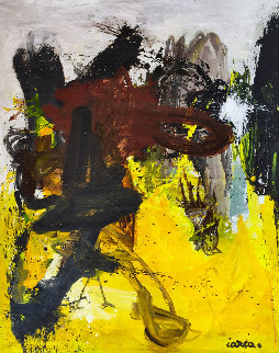 Long Ago 2019 87x65 Original Painting by Costel Iarca