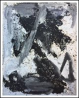 Empty Space 2019 84x65 Original Painting by Costel Iarca - 1