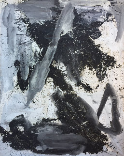 Empty Space 2019 84x65 Original Painting - Costel Iarca