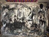 Performance 2019 100x136 Super Huge Mural  Original Painting by Costel Iarca - 1