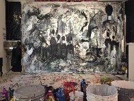 Performance 2019 100x136 Super Huge Mural  Original Painting by Costel Iarca - 3