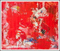 Rehearsals 2019 72x62 Super Huge Original Painting by Costel Iarca - 1