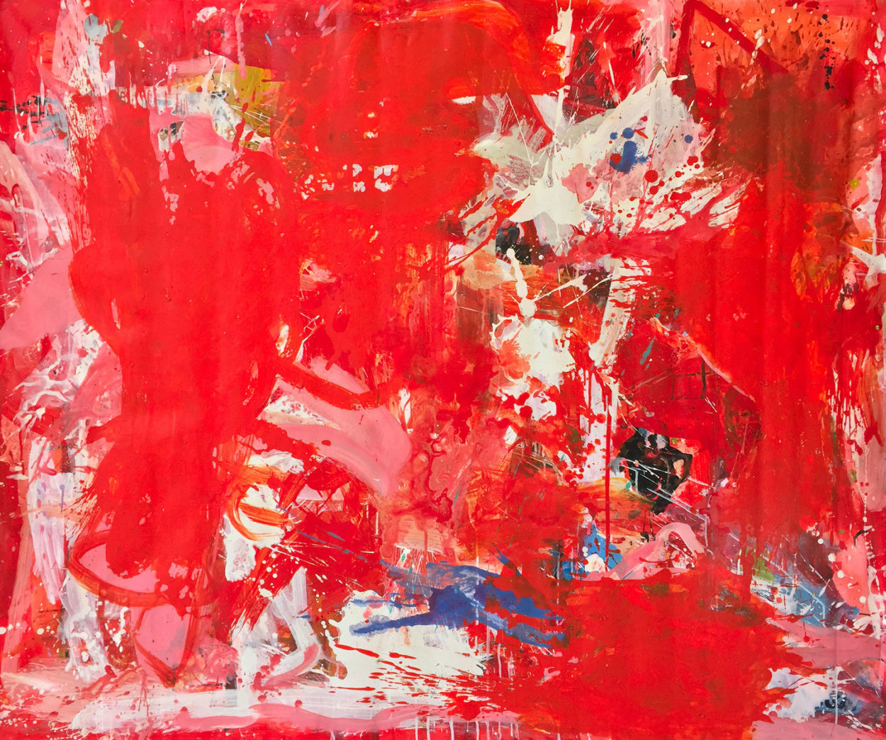 Rehearsals 2019 72x62 Super Huge Original Painting by Costel Iarca