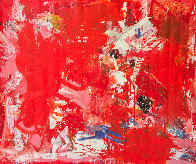 Rehearsals 2019 72x62 Super Huge Original Painting by Costel Iarca - 0