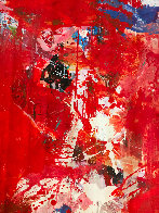 Rehearsals 2019 72x62 Super Huge Original Painting by Costel Iarca - 4