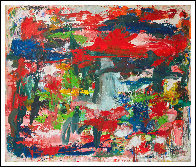 Major Dimensions 2019 90x79 Huge Original Painting by Costel Iarca - 1