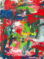 Major Dimensions 2019 90x79 Original Painting by Costel Iarca - 4