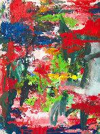 Major Dimensions 2019 90x79 Huge Original Painting by Costel Iarca - 4