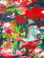 Major Dimensions 2019 90x79 Original Painting by Costel Iarca - 2