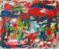 Major Dimensions 2019 90x79 Original Painting by Costel Iarca - 0