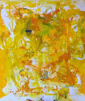 Fragile Beautiful Painting 2018 74x62 Huge Original Painting - Costel Iarca
