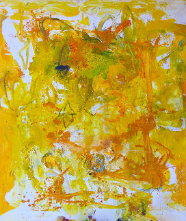 Fragile Beautiful Painting 9000 2018 74x62 Super Huge Original Painting - Costel Iarca