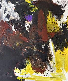 Defined Future 2019 74x62 Original Painting - Costel Iarca