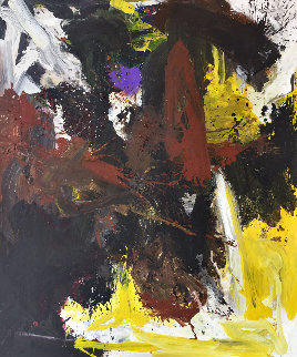 Defined Future 2019 74x62 Super Huge Original Painting - Costel Iarca