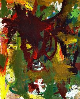 Illuminate And Enrich  2017 72x62 Original Painting - Costel Iarca